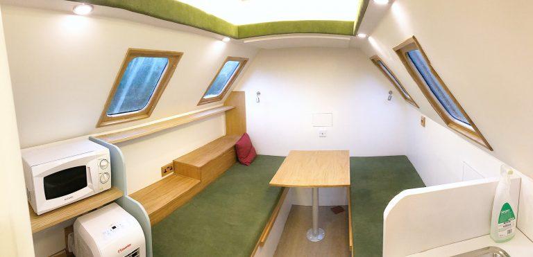 Boris the Military pod interior
