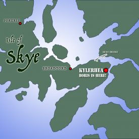 Kylerhea-Map